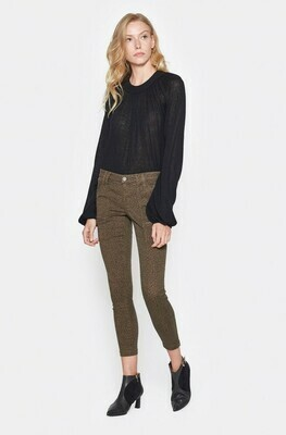 Joie Park Skinny Pants In French Army