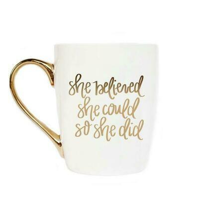 SWD She Believed She Could So She Did Coffee Mug