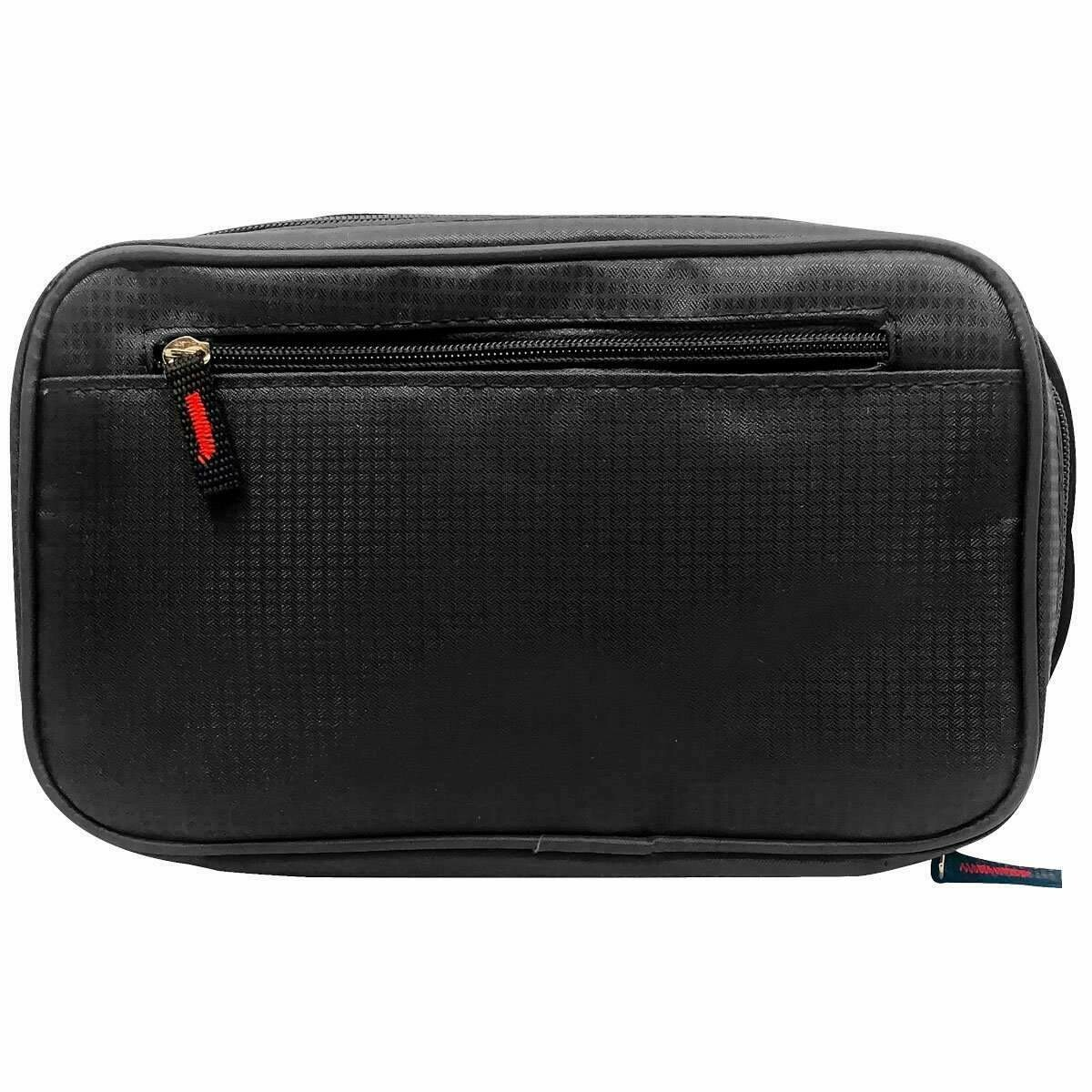 Mad Style Black Mens Travel Dopp Kit