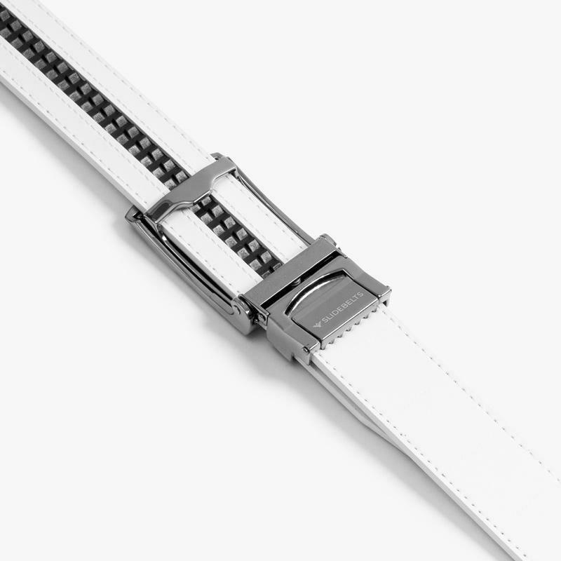 Slide Belt White Belt