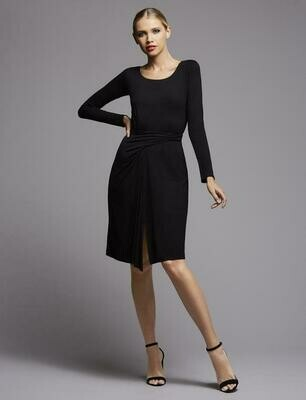 Bailey 44 Cleo Jersey Dress in Black