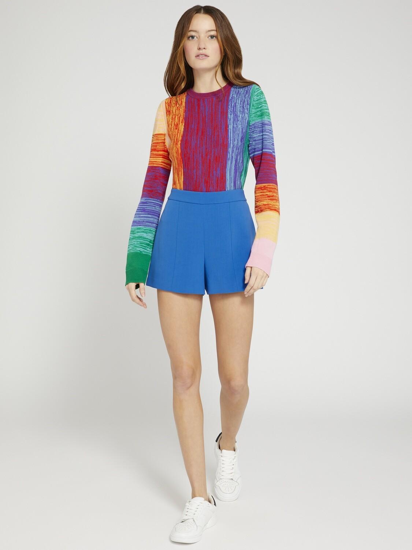 Alice & Olivia Connie Crew Neck Sweater