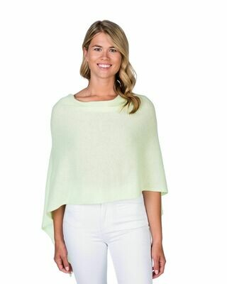 Jackie Z Cashmere Dress Topper in Lemonata