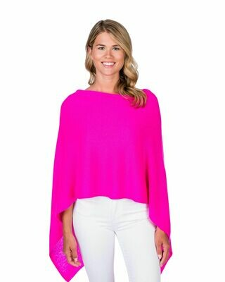 Jackie Z Cashmere Dress Topper in Tickled Pink