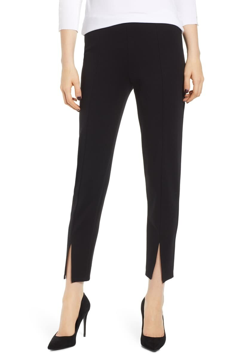 Pipe Dream Split Ponte Pants