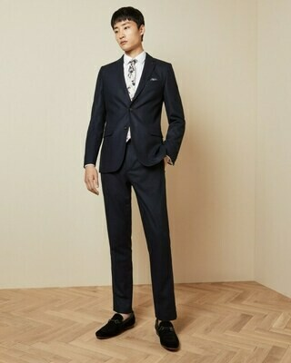 Ted Baker PADTRO Slim fit wool trousers