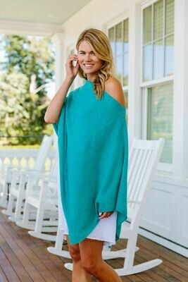 Jackie Z Cashmere Dress Topper in Capri