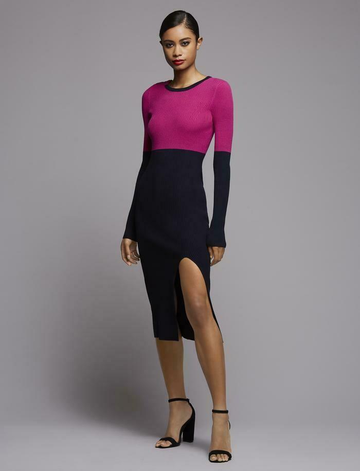 Bailey 44 Lenna Sweater Dress in Fandango