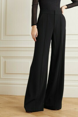 Alice & Olivia Dylan High-Waist Wide-Leg Pants