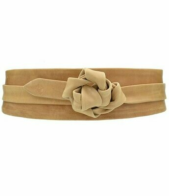 Ada Wrap Belt in Camel