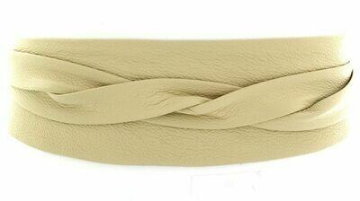 Ada Wrap Belt in Cream