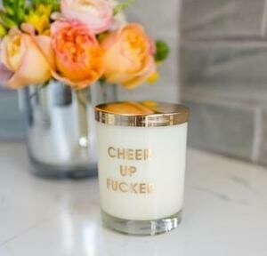 Chez Gagné Cheer Up Fucker Candle
