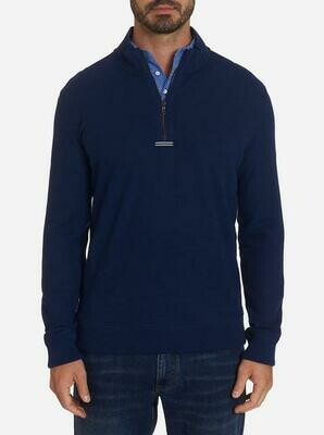 Robert Graham Draft Knit  Tailored Fit In Navy