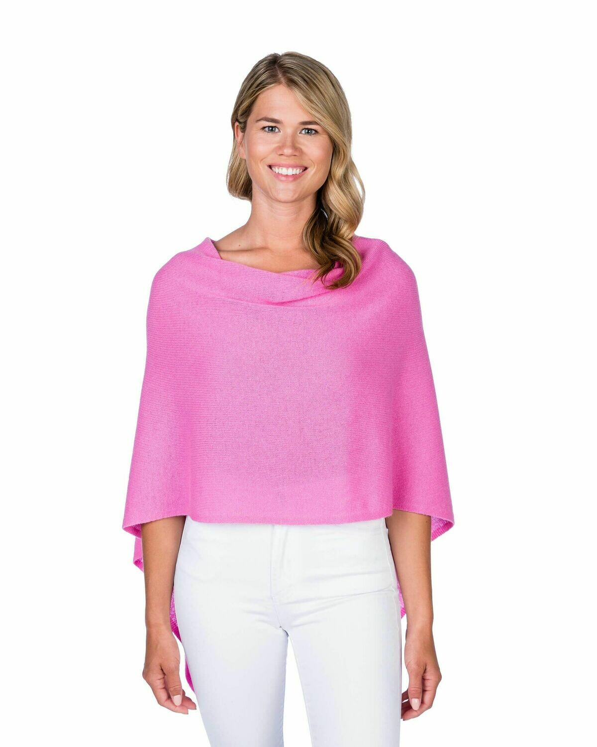 Jackie Z Cashmere Dress Topper in Candy