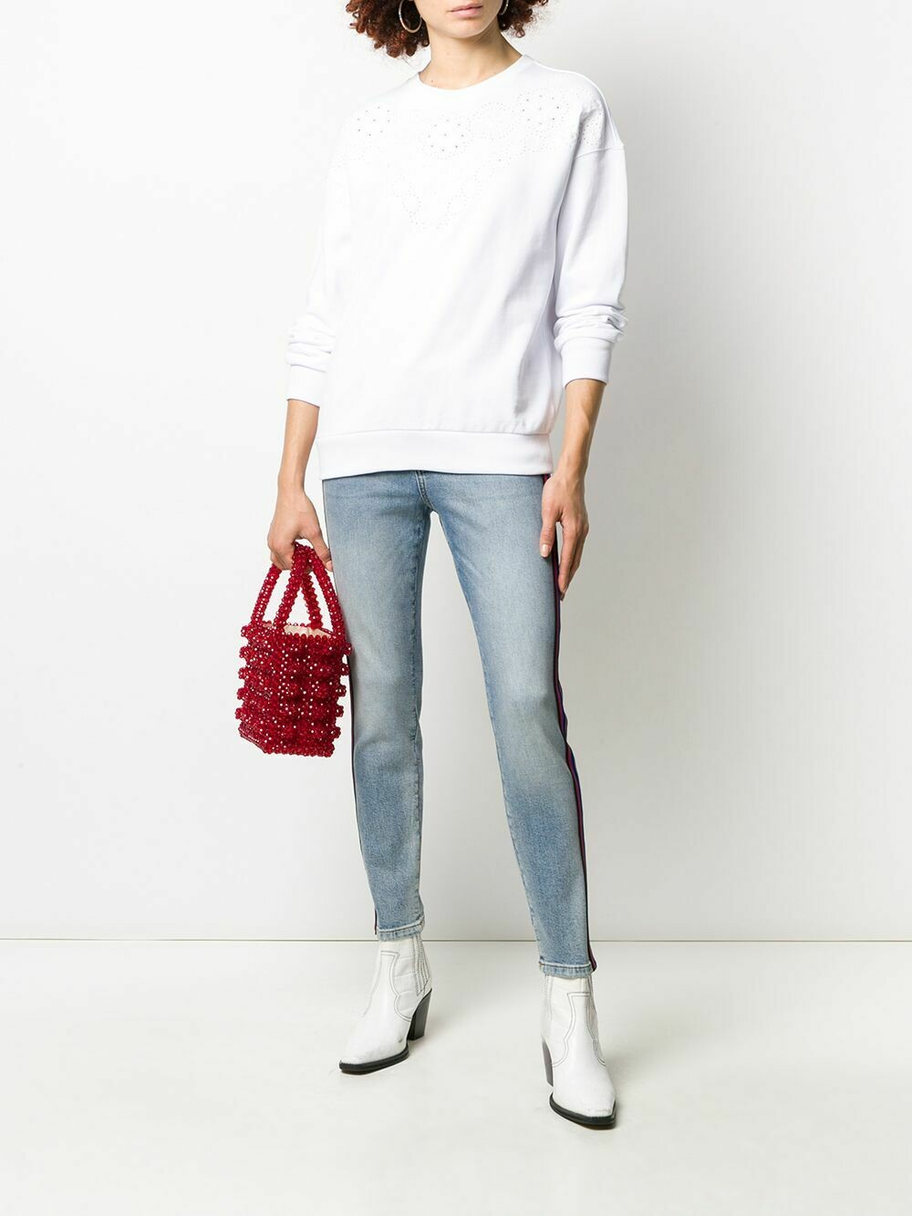 Escada SS20 Sport Jeans in Bright Blue
