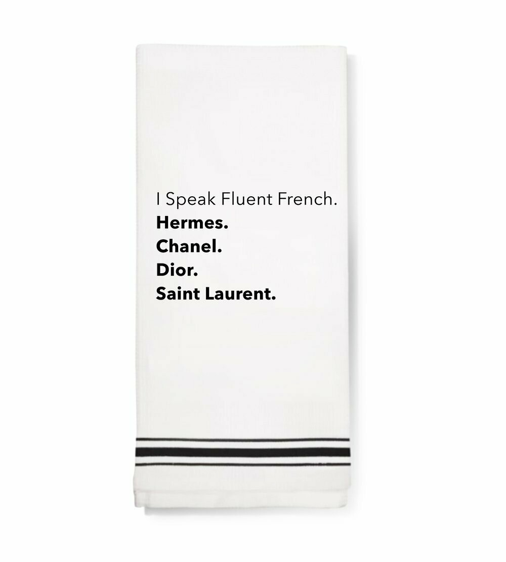 LA Trading Co Towel - Fluent French