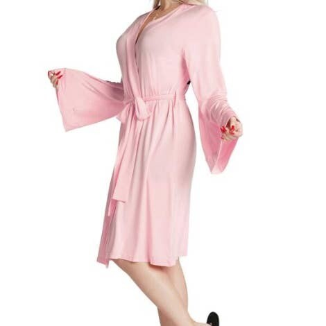LA Trading Co Lightweight Robe- Dress Like Coco - Pink