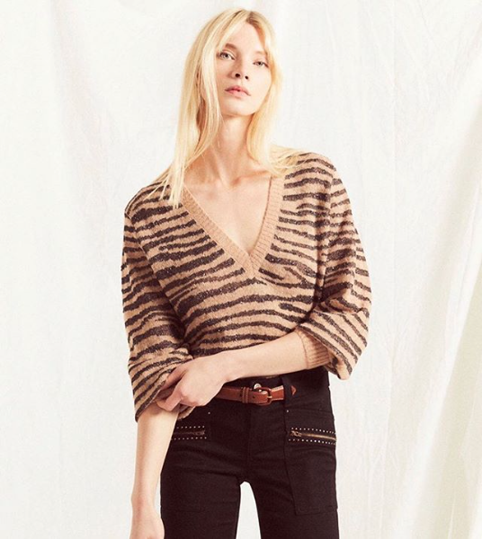 Joie Inira Sweater In Ginger