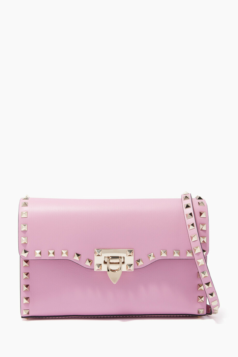 Valentino Rockstud Small Crossbody Bag Pink