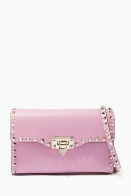 Valentino Rockstud Small Crossbody Bag Pink