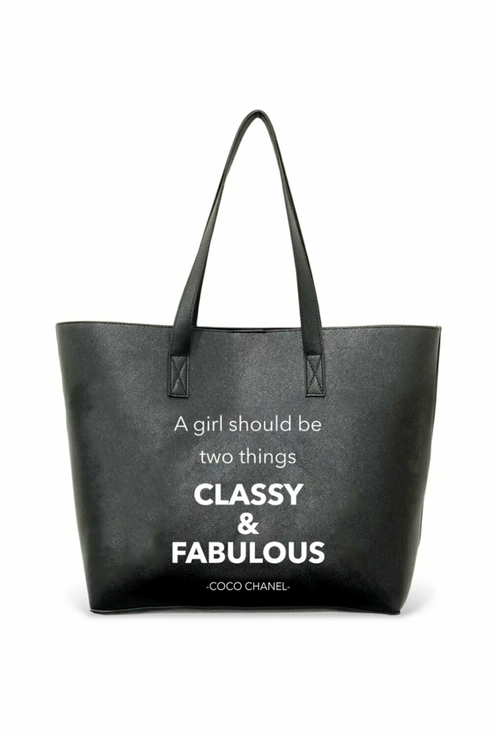 LA Trading Co. Vegan Leather Tote - Classy & Fabulous