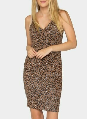 Tart Collections Achilles Reversible Dress in Leopard and Black