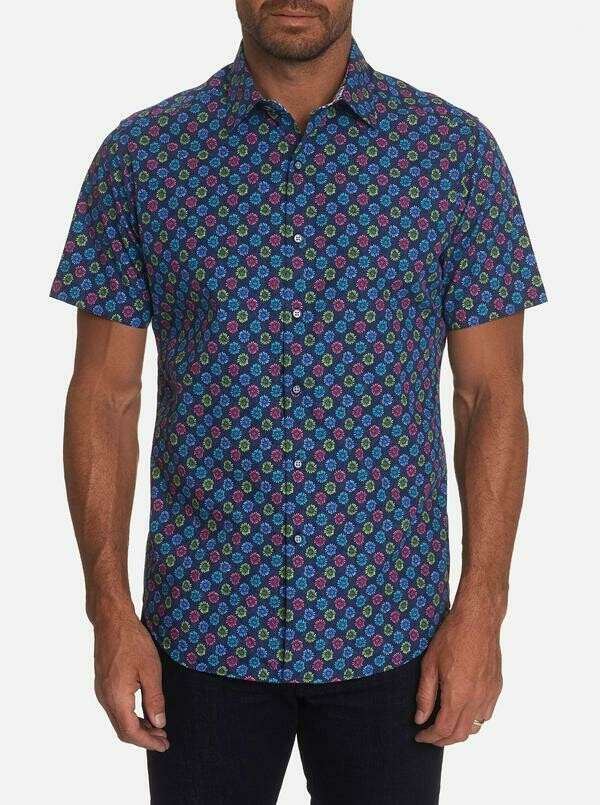 Robert Graham Gearbox Short Sleeve Shirt