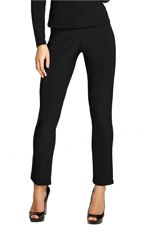Frank Lyman Knit Pant In Black