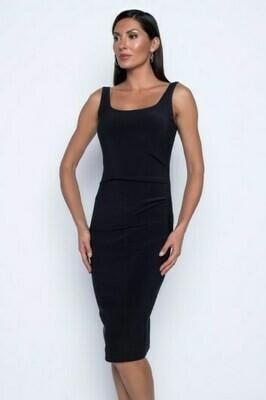 Frank Lyman Knit Dress In Black