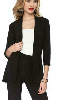 Frank Lyman Knit Jacket In Black