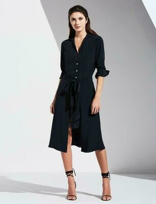 Bailey 44 Georgia Shirt Dress in Twilight