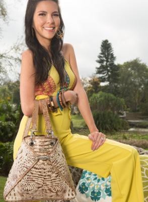 BSWANKY Sophie Chestnut Sundance Handbag