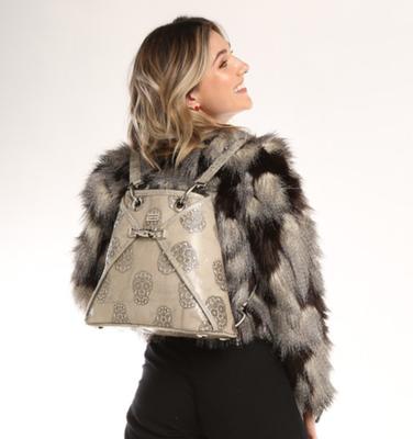 BSWANKY Sophie Classic Sugar Skulls Handbag