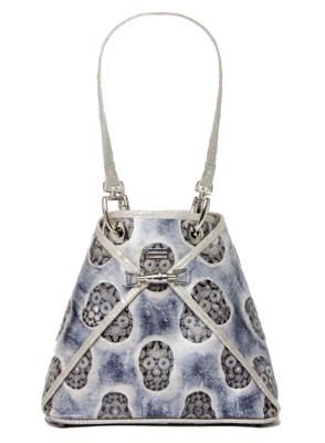 BSWANKY Sophie Classic Sterling Skulls Handbag
