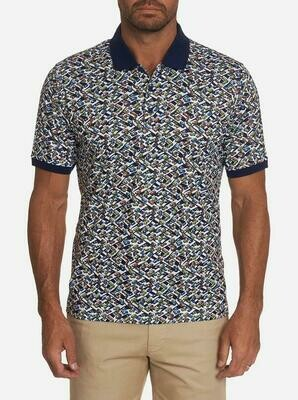 Robert Graham Traffic Jam Performance Polo in Multi Colors