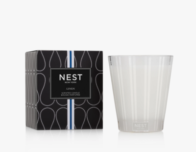 NEST Linen Classic Candle
