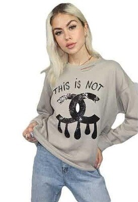 This is Not CC Shirt Long Sleeve