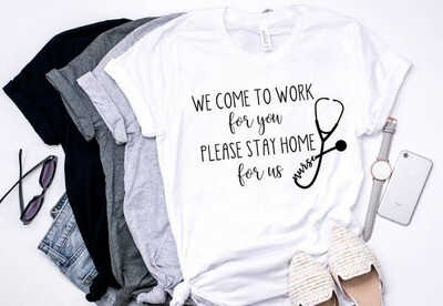 Nurse at Work Tee Shirt