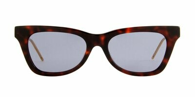 Gucci  Havana Extended Cat Eye Sunglasses