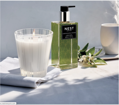 NEST Bamboo Liquid Soap & Hand Lotion Set