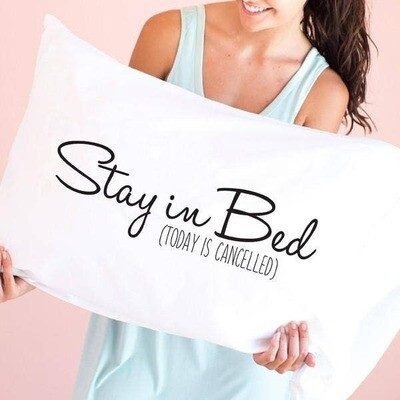 Face Plant Stay in Bed Pillowcase