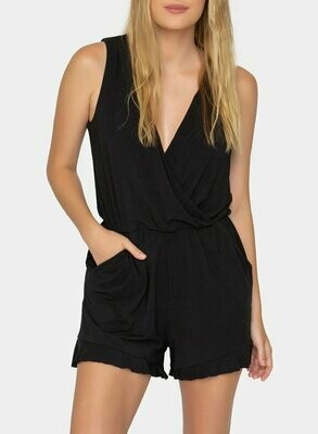 Tart Collections Rahima Romper in Black