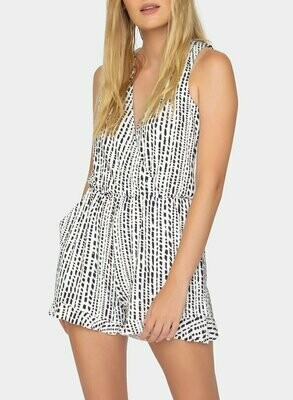 Tart Collections Rahima Romper in Dash Stripe