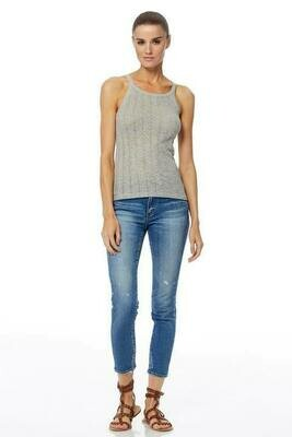 360 Sweater Tenley Tank in Light Heather Grey