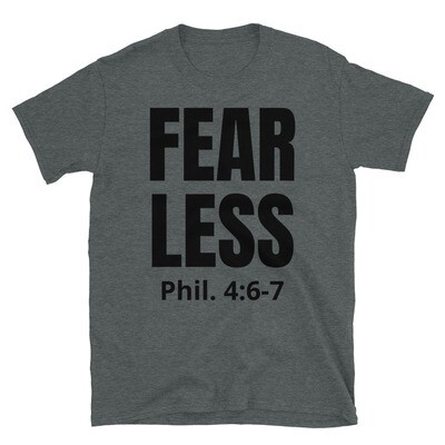 FEAR LESS - SCRIPTURE TEE