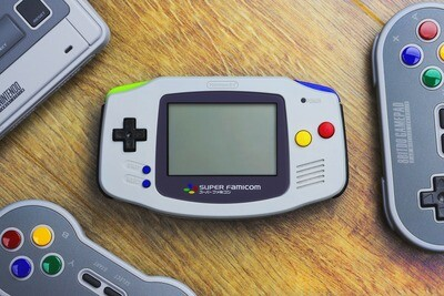 Game Boy Advance: Prestige Edition (Super Famicom)