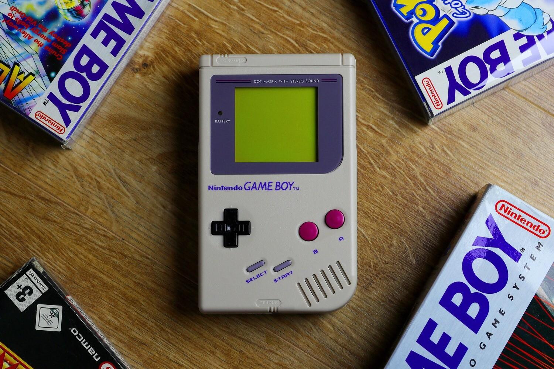 Game Boy Original: Restored Edition (Grey)