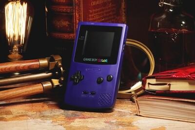 Game Boy Color: Restored Edition (Grape)