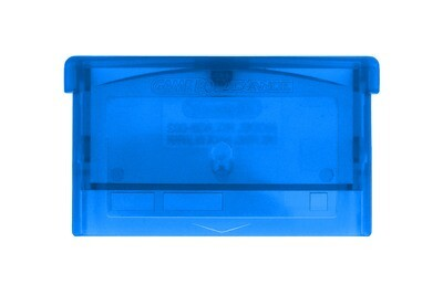 Game Boy Advance Game Cartridge (Clear Blue)