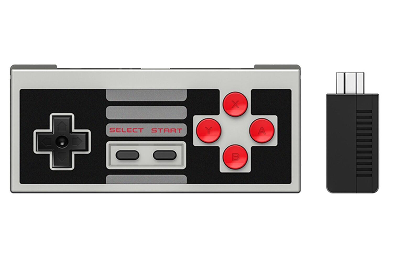 8Bitdo NES30 Classic Mini Edition Controller Set with Receiver